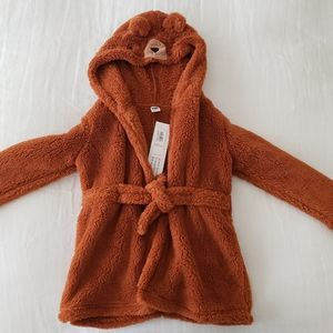 *NWT* Kids Bear hooded robe